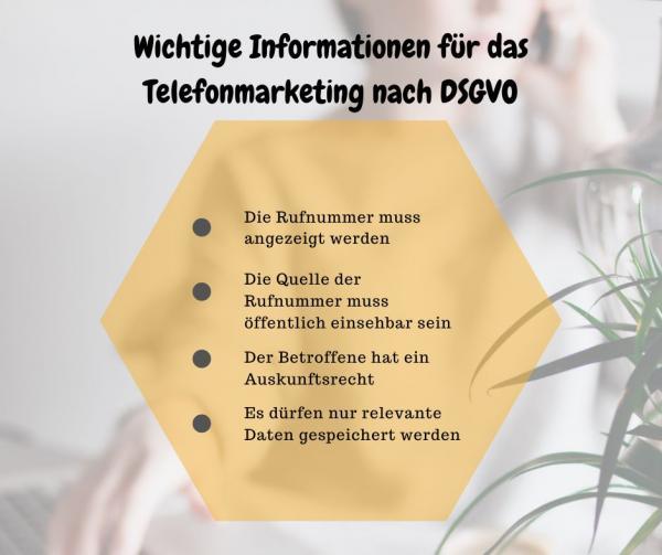 telefonakquise marketing nach dsgvo